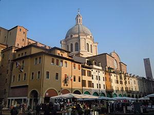 Province of Mantua - Palazzo della Cervetta in Mantua, the provincial seat.