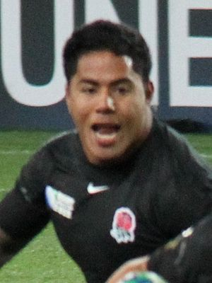 Manu Tuilagi - Argentina vs England at 2011 Rugby World Cup