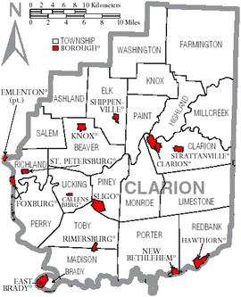 Clarion County, Pennsylvania - Wikipedia on