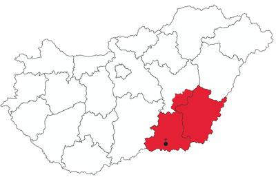 szeged magyarország térkép Szeged Csanádi egyházmegye – Wikipédia szeged magyarország térkép