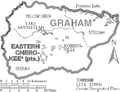 Map of Graham County North Carolina With Municipal and Township Labels.PNG
