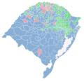 Mapa com os resultados da eleição para governador do Rio Grande do Sul em 2018.png