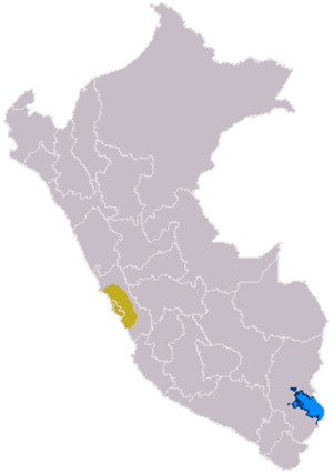 Lima culture - The extent of the Lima culture