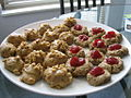 Maple spice cookies and thumbprint cookies.jpg