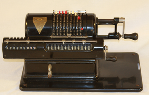 Marchant calculator - Marchant XLA calculator, based on Friden's design