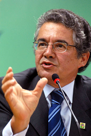 Português: O presidente do Tribunal Superior E...