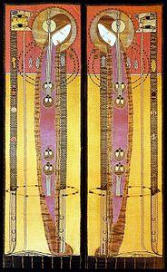Margaret MacDonald - Embroidered Panels 1902