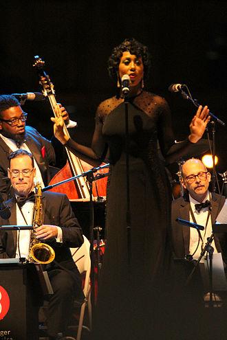 Margot Bingham - Bingham performing in 2014