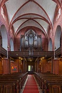 ორღანი მარიამ მაგდალინელის ეკლესიაში, ებერსვალდე, გერმანია.