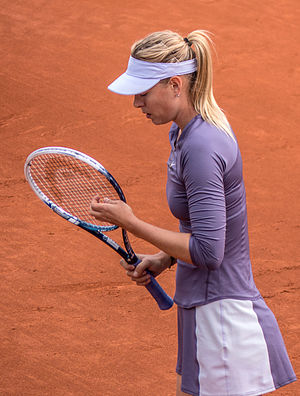 2013 WTA Tour Championships - Maria Sharapova reached her second French Open final in 2013.