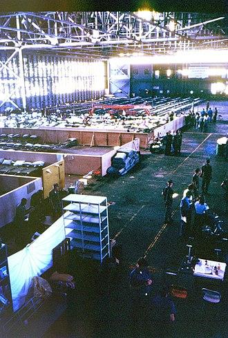 Mariel boatlift - Mariel Boatlift refugee center