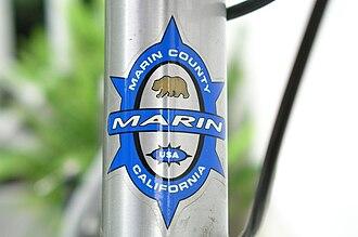 Marin Bikes - Marin logo