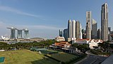 Marina Bays Sands Hotel and skyline of the Central Business District Singapore.jpg
