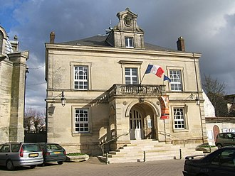 Marines, Val-d'Oise - The town hall of Marines