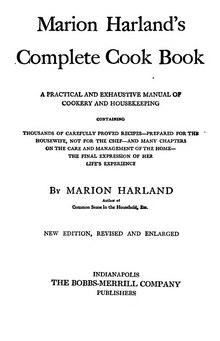 Index:Marion Harland's Complete Cook Book djvu - Wikisource
