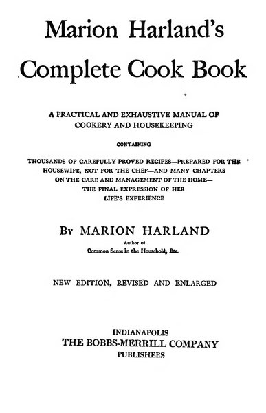 File:Marion Harland's Complete Cook Book.djvu