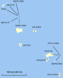 Communes Of The Marquesas Islands