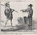 Mars... Je vous ai fait bien peur..., from Actualités, published in Le Charivari, July 20, 1859 MET DP876845.jpg