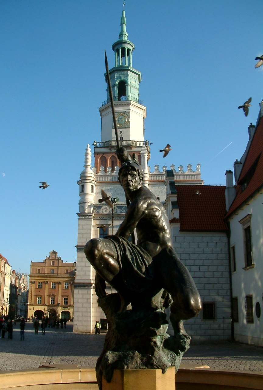 Mars Poznań fontanna