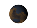 Mars with ocean - looking at Hellas Basin.tif
