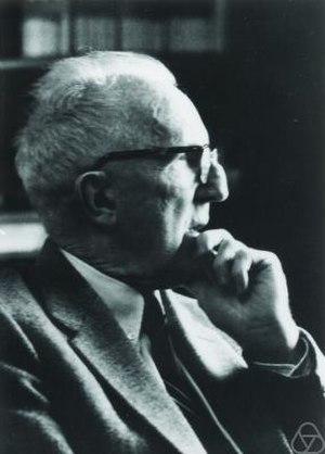 Marston Morse - Morse in 1965 (courtesy MFO)