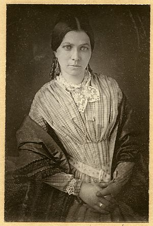 James Buchanan Eads - Photograph portrait of Martha Dillon Eads, wife of James B. Eads.