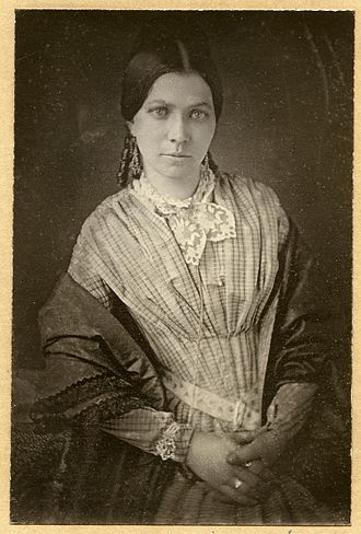 James Buchanan Eads - Photograph portrait of Martha Dillon Eads, wife of James B. Eads.