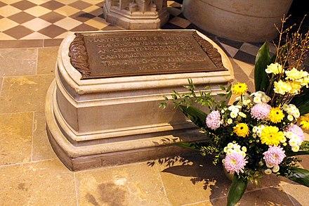 Martin Luther's grave, Schlosskirche, Wittenberg
