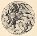 Martin Schongauer - Der Löwe des Markus (L 73).jpg