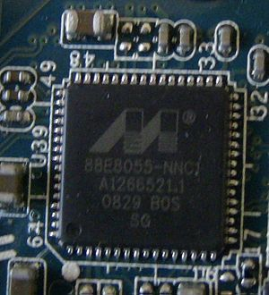 Marvell Technology Group - Marvell Yukon Gigabit Ethernet controller in a Sony Vaio FW series laptop