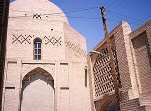 Khorasani style - Image: Masjed jame naeen posht