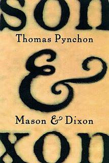 <i>Mason & Dixon</i> book
