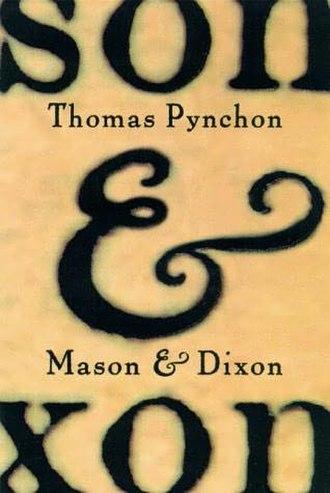Mason & Dixon - First edition cover