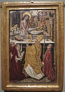 Alonso Carrillos Mass of St Gregory