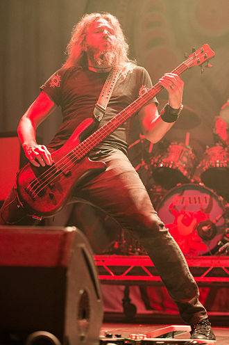 Troy Sanders - Troy Sanders performing in 2014