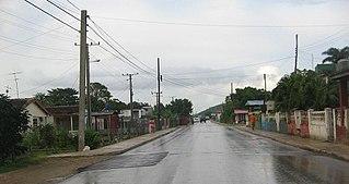 Mataguá Village in Villa Clara, Cuba