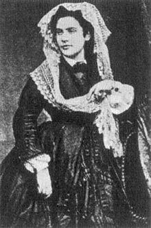 "Heine's wife ""Mathilde"" (Crescence Eugénie Mirat) (Source: Wikimedia)"