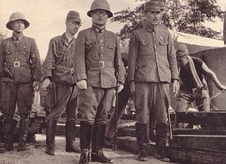 5th Division (Imperial Japanese Army) - Lieutenant General Matsui Takuro during the battle of Singapore.