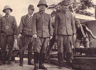 Takuro Matsui - General lieutenant Takuro Matsui, Commander of the 5th Division, at the Battle of Singapore