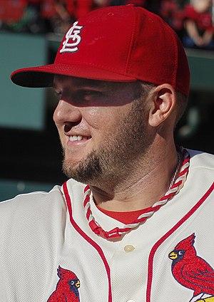 Matt Adams - Adams with the St. Louis Cardinals