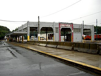 Mattapan station - Mattapan station before the 2006-2007 renovation