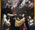 Matteo rosselli, madonna del rosario coi ss. domenico, caterina e altri, 1649, 05.JPG