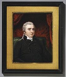 Henry Bone: Matthew Baillie (1761–1823), F.R.S., after Hoppner