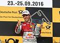 Mattias Ekström, Mattias Ekström (Red Bull Audi RS 5 DTM -5), DTM Budapest 2016, DTM Budapest 2016 (29887807016).jpg