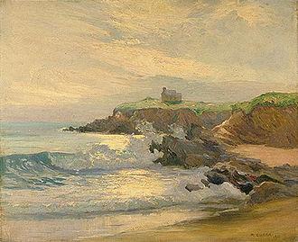 Maurice Cullen (artist) - Image: Maurice Cullen À la marée montante, Le Pouldu, Bretagne
