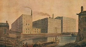 McConnel & Company mills, about 1820.jpg