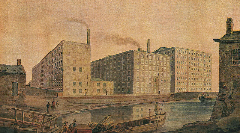 File:McConnel & Company mills, about 1820.jpg