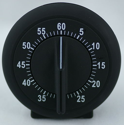 Mechanical egg timer