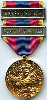 National Defence Medal French military medal