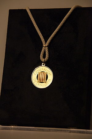 National symbols of Catalonia - Gold Medal of the Generalitat of Catalonia
